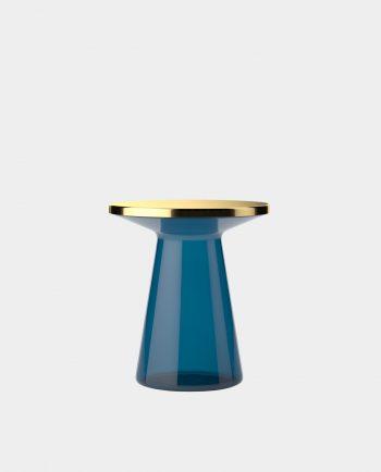 Design Beistelltisch FIGURE BLUE