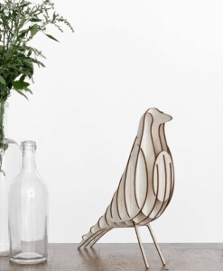 DIY Holzvogel BIRDY