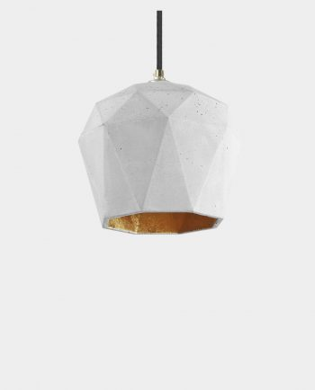 Beton Lampe MOA GREY