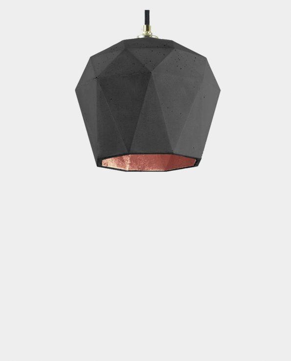 Beton Lampe MOA BLACK