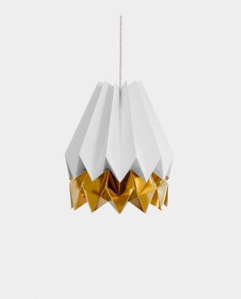 Papierlampe BARRA GREY