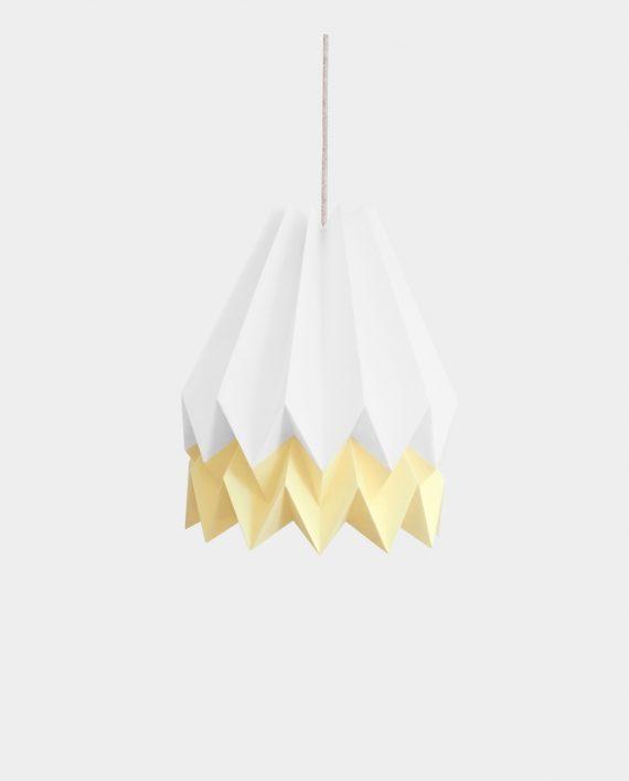 Papierlampe BARRA WHITE