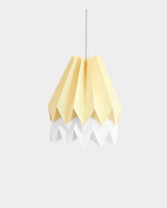 Papierlampe BARRA YELLOW