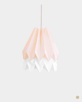 Papierlampe BARRA PINK