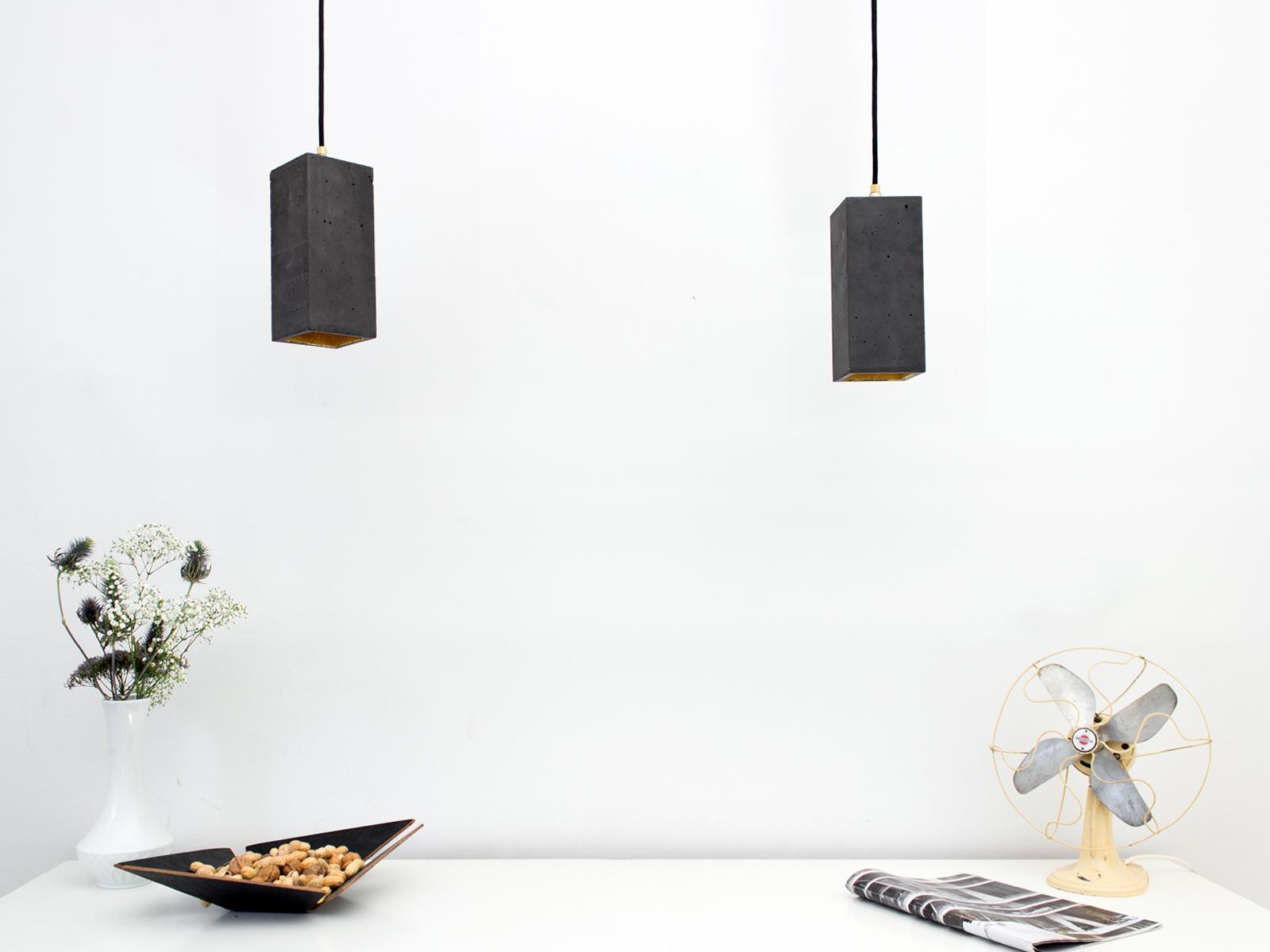 Lampen aus Beton, Betonlampe
