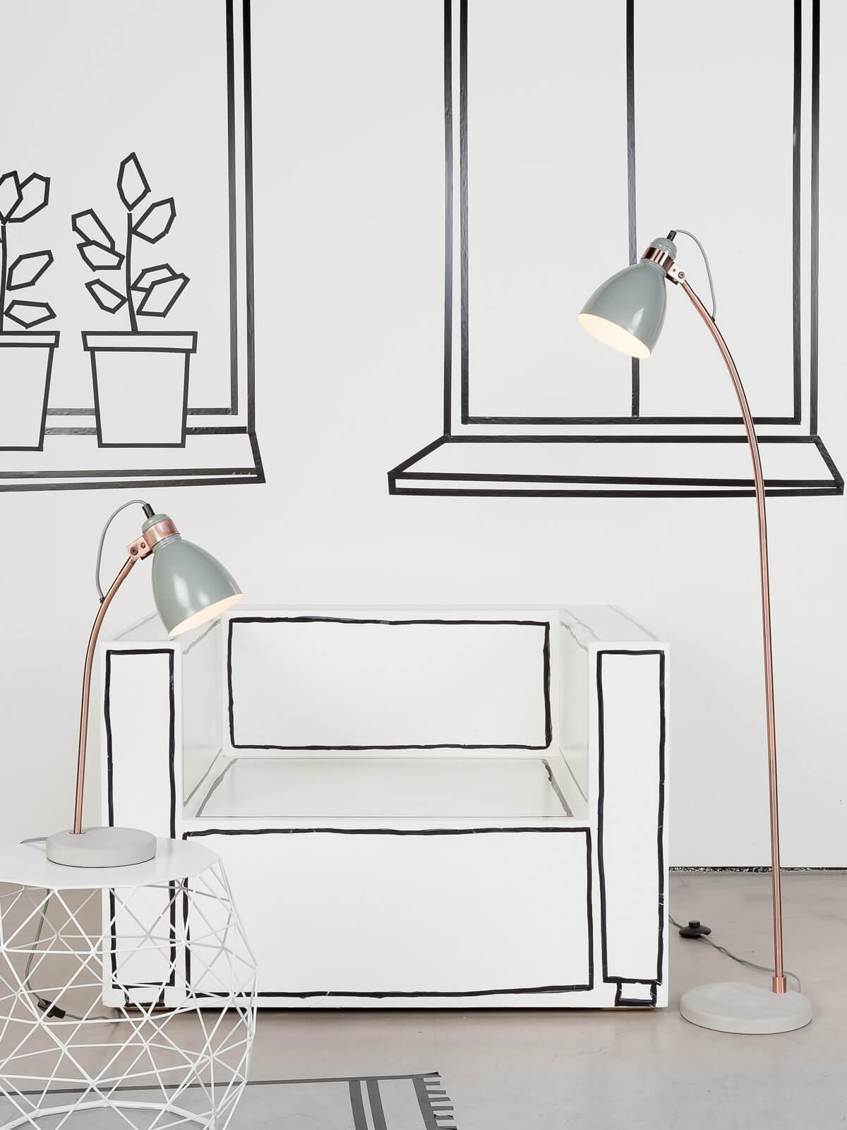 design schreibtischlampe denver jetzt online kaufen. Black Bedroom Furniture Sets. Home Design Ideas