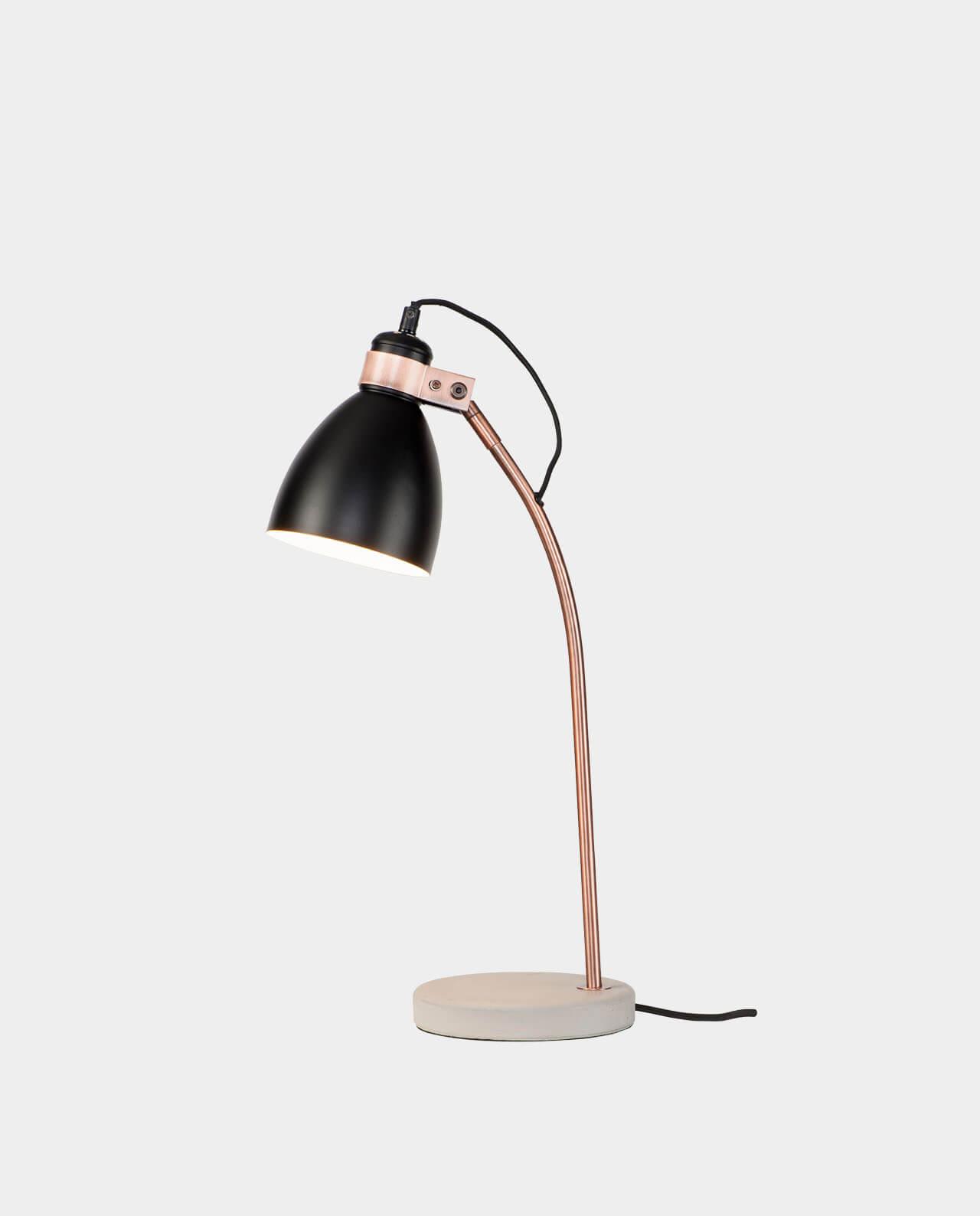 design schreibtischlampe denver jetzt entdecken. Black Bedroom Furniture Sets. Home Design Ideas