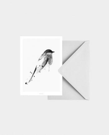 Postkarte BIRDY N°3