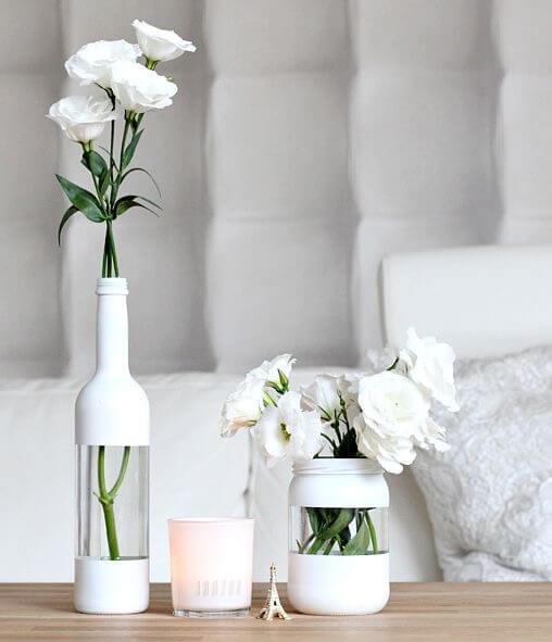 Diy deko vasen aus alten flaschen - Deko aus alten brettern ...