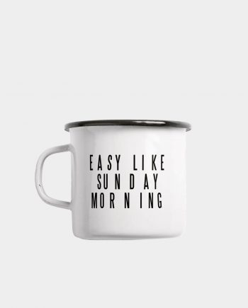 Emaille Tasse EASY