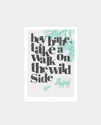Print WILD SIDE