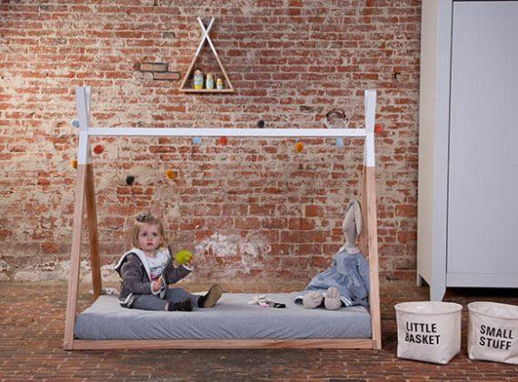 Kinderbett Tipi ANDO (90x200), Kinderbett Tipi ANDO (70x140)