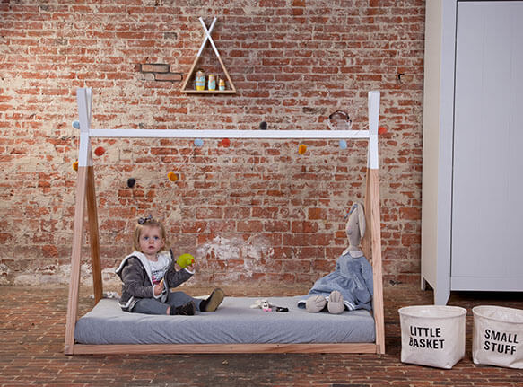 Kinderbett Tipi Ando 90x200 Fur Traumhafte Nachte Satamo