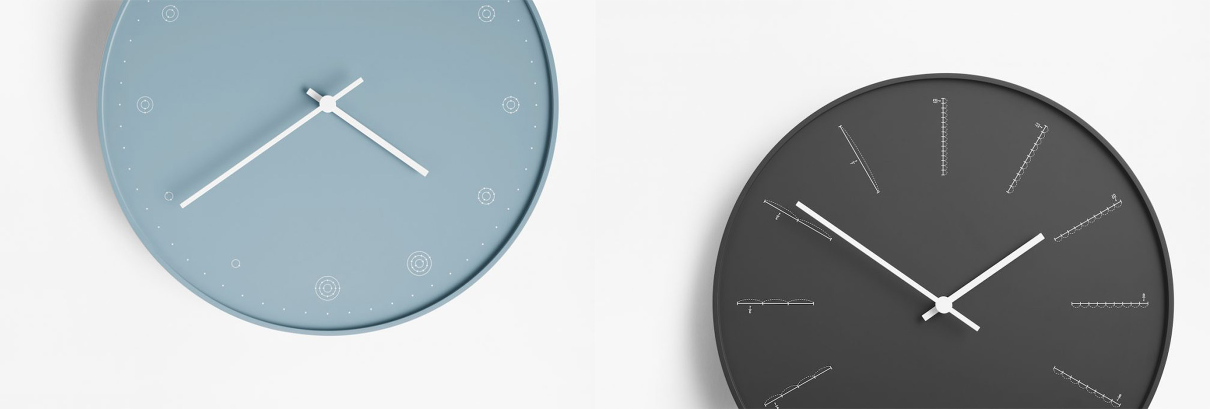 Moderne wanduhren im modernen design online kaufen satamo - Wohnzimmeruhr modern ...
