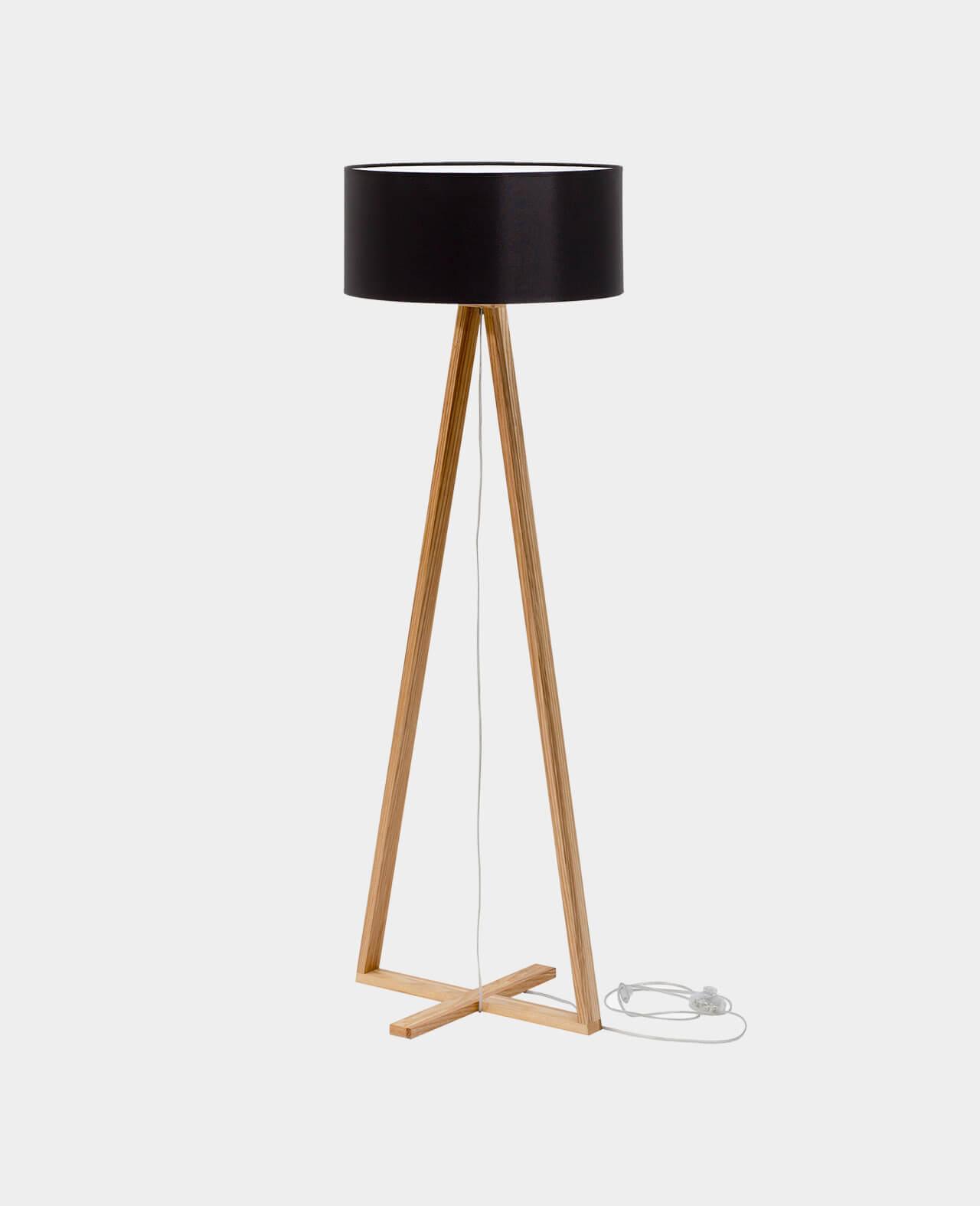 Entdecke Jetzt Die Design Stehlampe Tales Black Satamo De