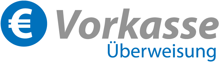 Vorkasse-Logo | Satamo.de