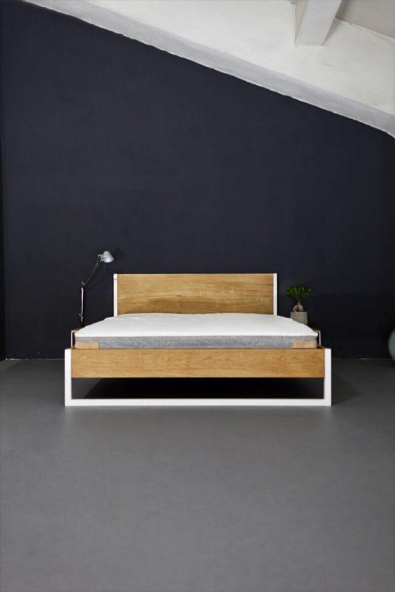 Bett Eiche 180x200
